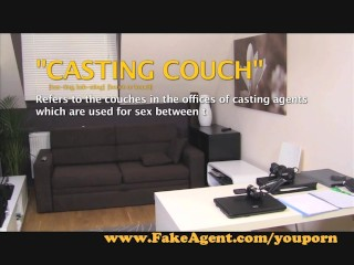 FakeAgent Hot fun with young blonde