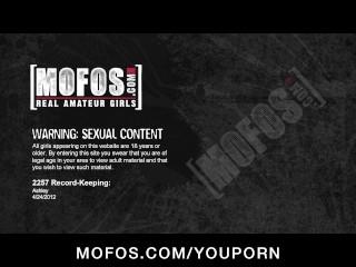 Horny big-tit blonde MILF slut fucks wet tight pussy to orgasm