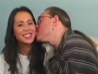 Hot asian loved pussy licks & hot facials