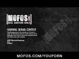 Skinny young brunette slut in lingerie fucks wet pussy to orgasm