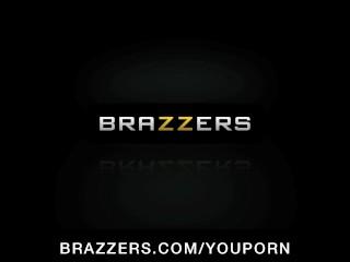Hot big-boob redhead pornstar Maya Hills fucks roommates big-dick
