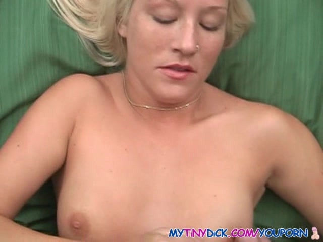 Small tits with cum on them
