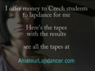 Blow job, lapdance and fingering with amateur czech slut