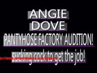 Amateur Anqie Dove giving her boyfriend blowjob