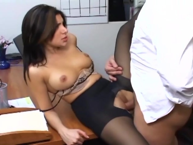 Office Sex With A Busty Secretary In Sexy Hosiery - Free -8040