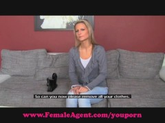 Picture FemaleAgent. Bisexual blonde beauty