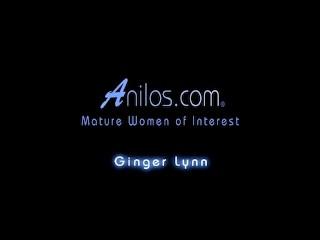 Ginger Lynn fucks her wet cunt