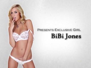 HOT natural blonde Bibi Jones loves to have her pigtails pulled