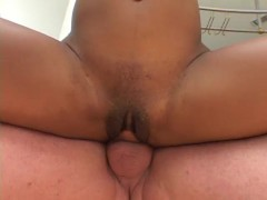 Picture Lucky guy gets to fuck black pussy - Triple...
