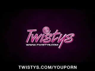 First time cam girl Kimmy Haze shows off her pink pussy