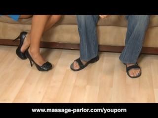 Sexy Alexis Monroe Massage And Ass Crack Handjob