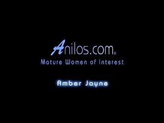 Bigtit office mom Amber Jayne