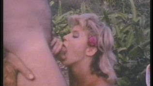 Ginger Lynn in a retro 4some! - Porn Star Legends