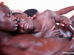 Picture Black African Threesome With Lot Of Jizz