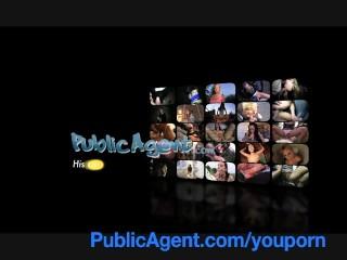 PublicAgent Blonde with Huge Boobs win iPad