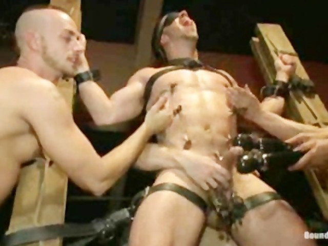 Guy Gets Tied Up Fucked