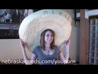 Cinqo de Mayo Spanish Girl First Time Video