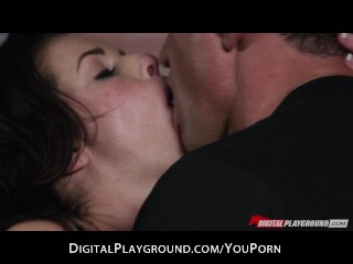 Busty sex goddess Veronica Avluv loves riding her man's big-dick