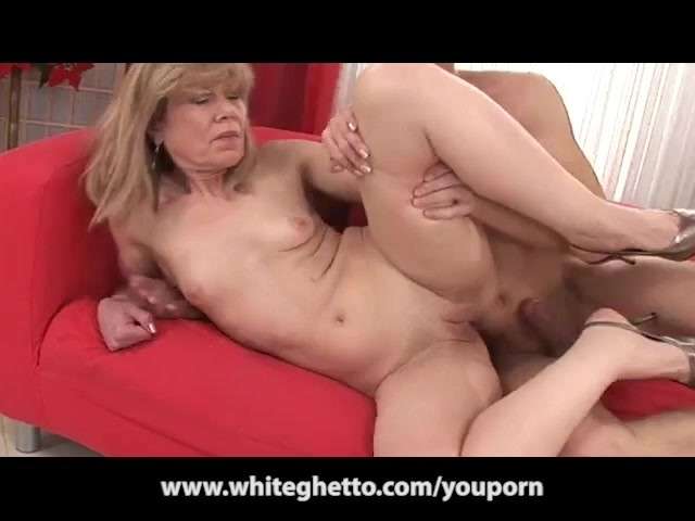 Mature Mom Gets Fucked Son