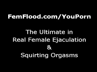 MILFs Relaxing Shower and Squirting Orgasms