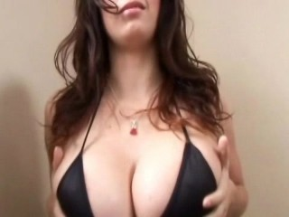 Genesis Magazine Gianna Michaels titty monster in action