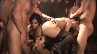 Orgy at the gentlements club - Harmony