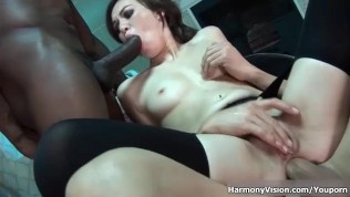 HarmonyVision Interracial Anal Double Team