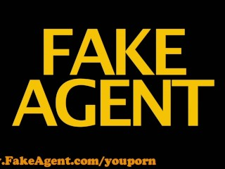 FakeAgent HD Shy blonde takes big dick in casting