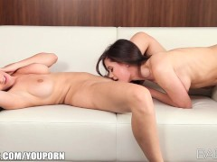 Picture Incredibly sexy redhead brings her young bru...