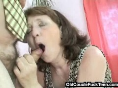 Picture Sex invitation from old couple