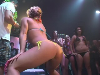 Sexy chicks shake their booty for the crowd – DreamGirls