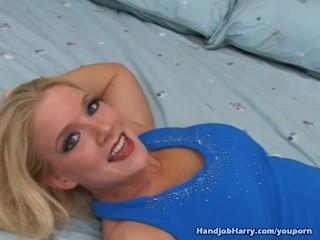 Heidi Mayne Titty Fucks and Strokes Cock