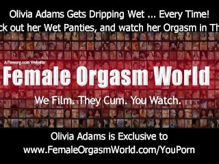 Incredibly wet pussy panty play and pulsating panty orgasm
