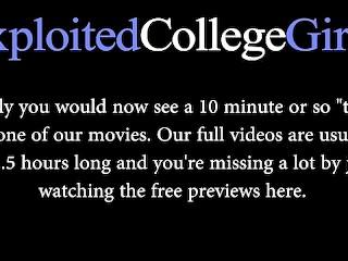 Emma on Exploited College Girls - Full Video