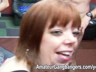 Small mature redhead loves fucking
