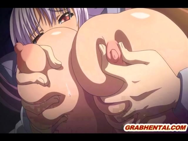 Chained Hentai Gets Squeezed Her Huge Melon Tits And -5712
