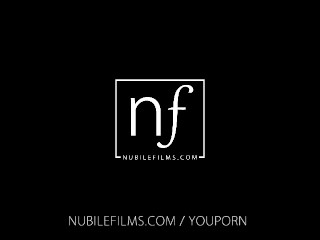 Nubile Films - Beautiful lesbian couple make passionate love