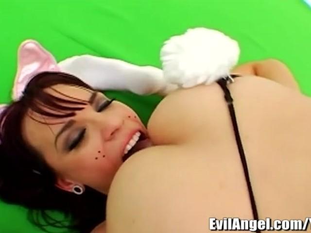 Deep Lesbian Anal Licking