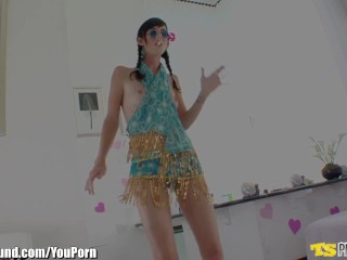 TSPlayground Proxy Paige Gets Fucked by a Tranny