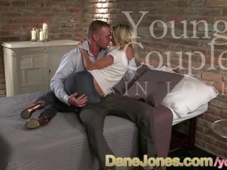DaneJones Teen in love enjoys orgasm and creampie