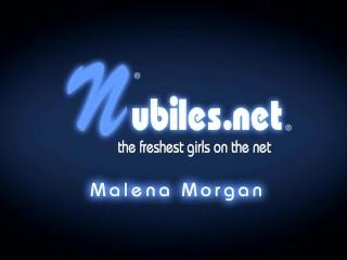 Teen Malena Morgan fucks dildo till she cums hard