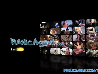 PublicAgent HD Real life pornstar lets me record my first porn scene
