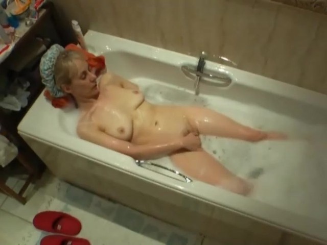 Caught Masturbating The Bath