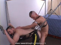 Picture Brandon and Ardon Bareback Sling Fun