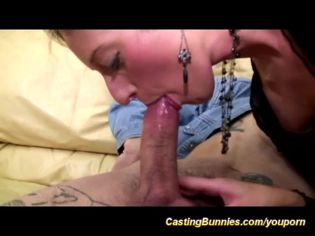 First Hard Anal Casting