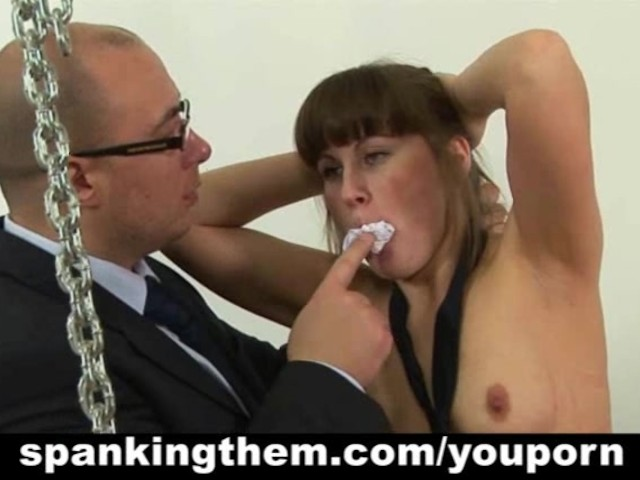 Sexy Girl Getting Spanked