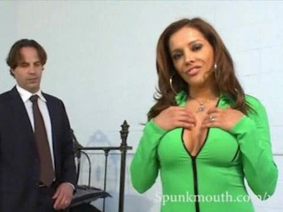 MILF Francesca Le grinds cock and gets cum in mouth