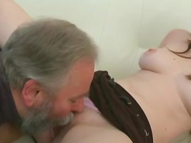 Teen Fucks Old Neighbor