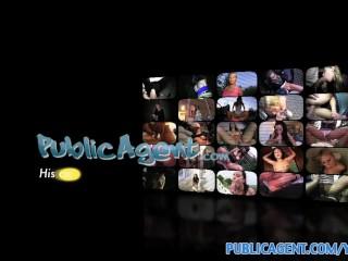 PublicAgent HD Amateur cam video with mature masseuse fucking her client