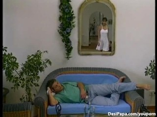 Indian Couple Sucking And Fucking In Lounge